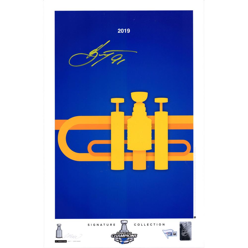 Vladimir Tarasenko St. Louis Blues 2019 Stanley Cup Champions Autographed 11