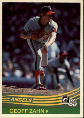 Photo of 1984 Donruss #402 Geoff Zahn
