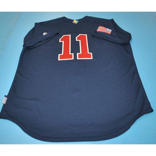 Photo of 2017 World Baseball Classic Batting Practice Jersey - Jim Leyland - USA (Size L)