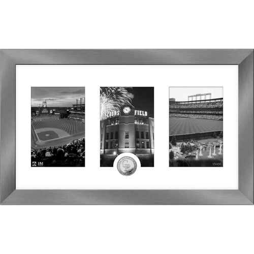Photo of Colorado Rockies Art Deco Silver Coin Photo Mint