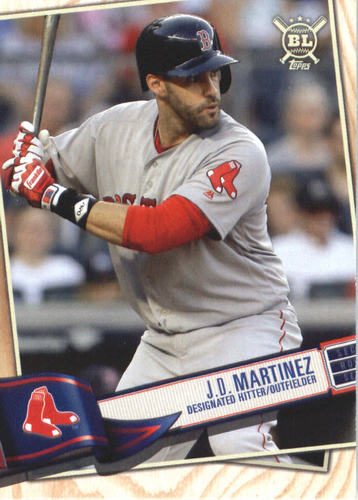 Photo of 2019 Topps Big League #133 J.D. Martinez