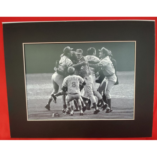 Photo of Matted 1975 Celebrating World Champs - 11x14