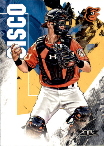 Photo of 2019 Topps Fire #164 Chance Sisco