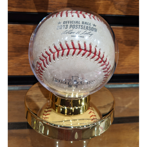 2013 ALDS Game 1 Tampa Bay Rays vs. Boston Red Sox October 4, 2013 Game Used Baseball
