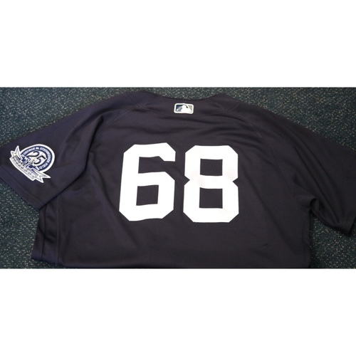 Photo of Team-Issued Spring Training Jersey - Tanner Swanson - #68 - Jersey Size - 46