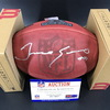 Bills - Tremaine Edmounds Signed Authentic Footbal with Pro Bowl Logo