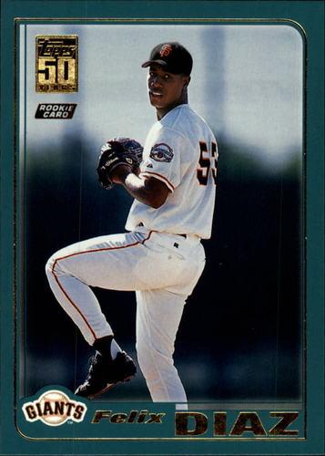Photo of 2001 Topps Traded #T220 Felix Diaz RC