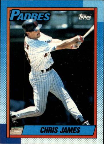 Photo of 1990 Topps #178 Chris James