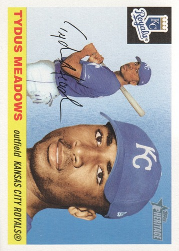 Photo of 2004 Topps Heritage #146 Tydus Meadows RC