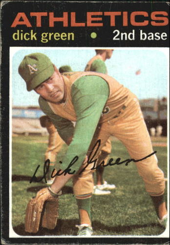 Photo of 1971 Topps #258 Dick Green