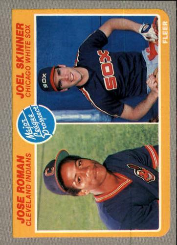 Photo of 1985 Fleer #646 Jose Roman RC/Joel Skinner