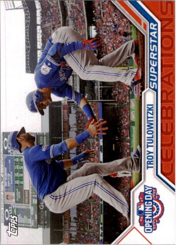 Photo of 2017 Topps Opening Day Superstar Celebrations #SC14 Troy Tulowitzki