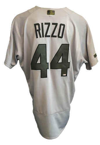big sale 9012f c517b MLB Auctions   Anthony Rizzo Game-Used Memorial Day Jersey ...