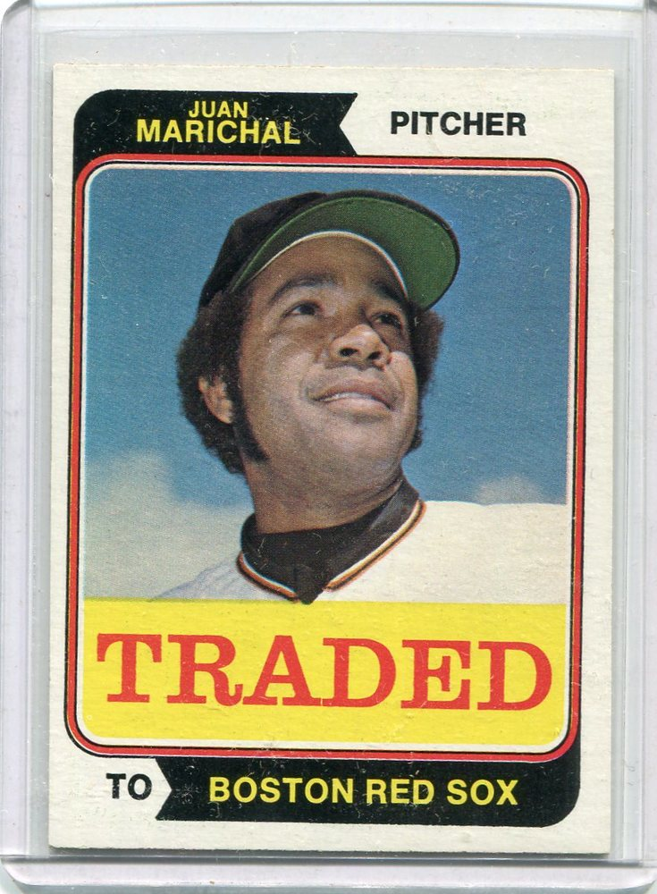1974 Topps Traded #330T Juan Marichal  -- Hall of Fame Class of 1983