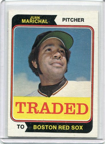 Photo of 1974 Topps Traded #330T Juan Marichal  -- Hall of Fame Class of 1983