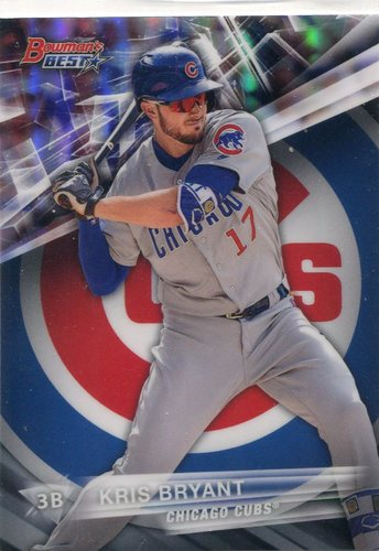 Photo of 2016 Bowman's Best Refractors #65 Kris Bryant
