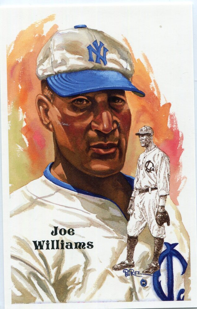 1980-02 Perez-Steele Hall of Fame Postcards #243 Joe Williams -- HOF Class of 1999