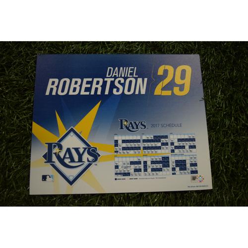 2017 Team-Issued Locker Tag - Daniel Robertson