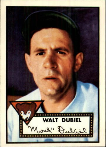 Photo of 1983 Topps 1952 Reprint #164 Walt Dubiel