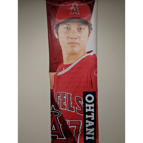 Photo of Shohei Ohtani Street Team-Issued Banner