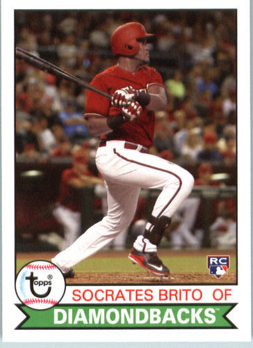 Photo of 2016 Topps Archives #108 Socrates Brito RC