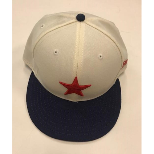 Photo of Game-Used Detroit Stars Cap: James McCann
