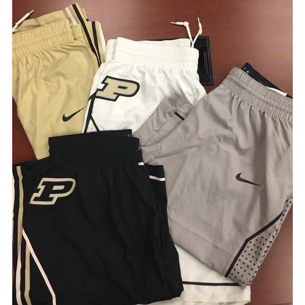 Photo of Purdue Men's Basketball Nike Game Shorts Grab Bag: Size 40 +6 Length