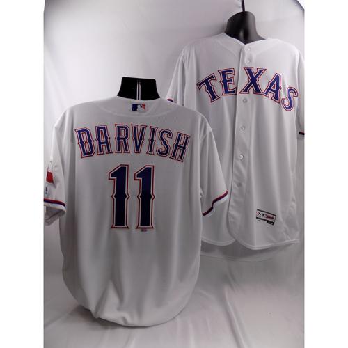 Photo of Yu Darvish White Team-Issued Jersey