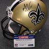 NFL - Saints Michael Thomas signed Saints proline helmet