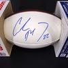 Panthers - Christian McCaffrey Signed Panel Ball