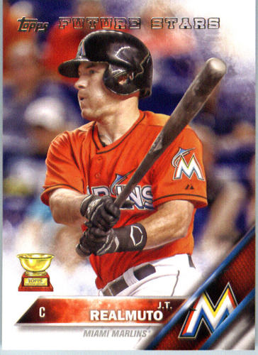 Photo of 2016 Topps #666 J.T. Realmuto FS