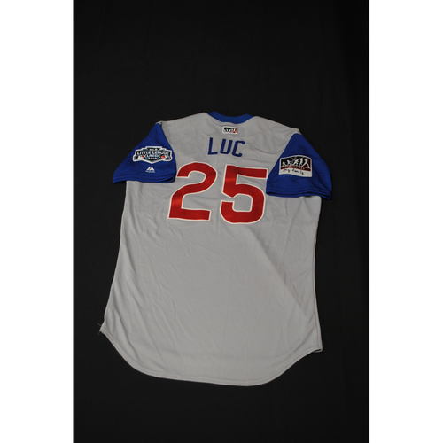 "Photo of 2019 Little League Classic - Game Used Jersey - Jonathan ""Luc"" Lucroy,  Chicago Cubs at Pittsburgh Pirates - 8/18/2019 (Size - 44)"