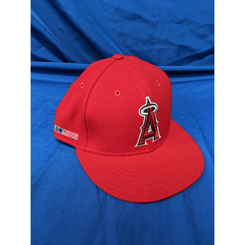 Albert Pujols Game Used 2019 Opening Day Cap