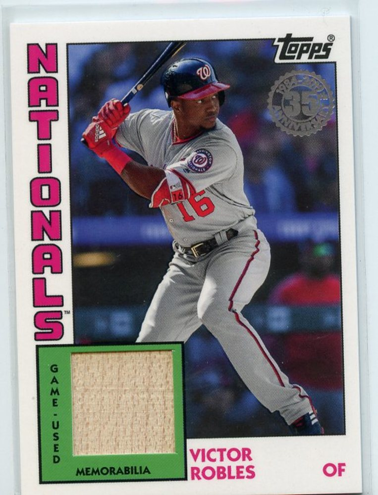 2019 Topps '84 Topps Relics #84RVR Victor Robles S2