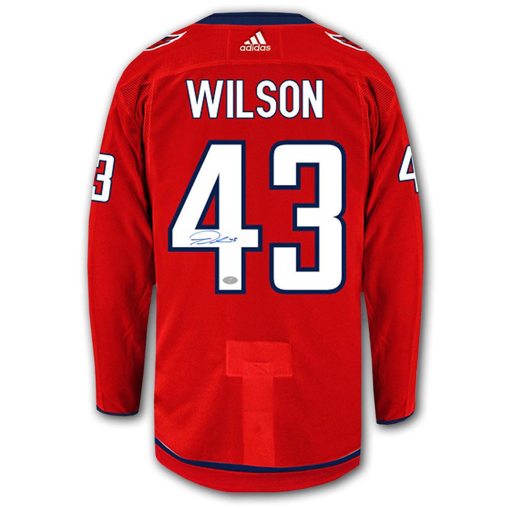 Tom Wilson Washington Capitals Adidas Pro Autographed Jersey