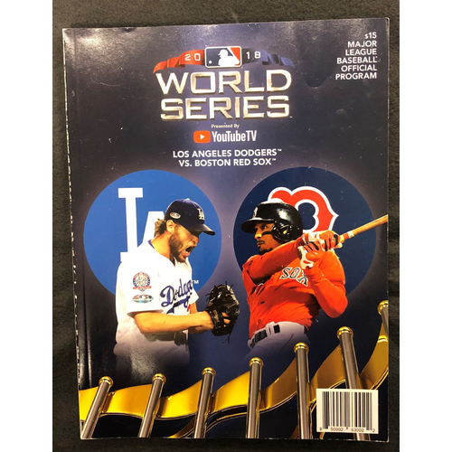 Photo of 2018 World Series Program