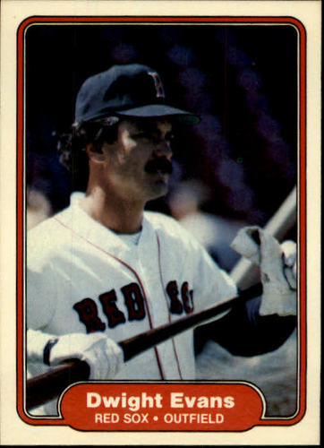 Photo of 1982 Fleer #293 Dwight Evans