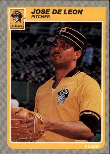 Photo of 1985 Fleer #463 Jose DeLeon