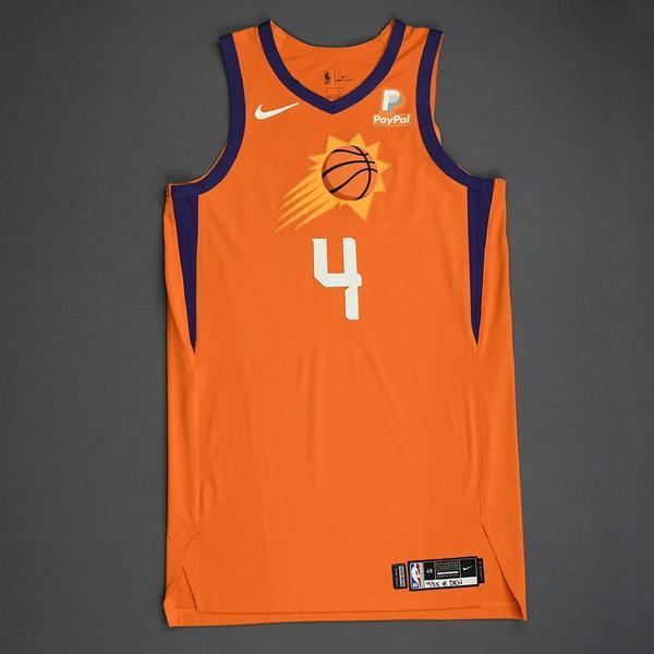 Image of Jevon Carter - Phoenix Suns - Game-Worn Statement Edition Jersey - 2019-20 Season