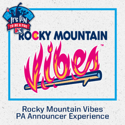Photo of Rocky Mountain Vibes PA Announcer Experience