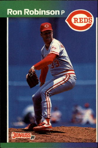 Photo of 1989 Donruss #308 Ron Robinson