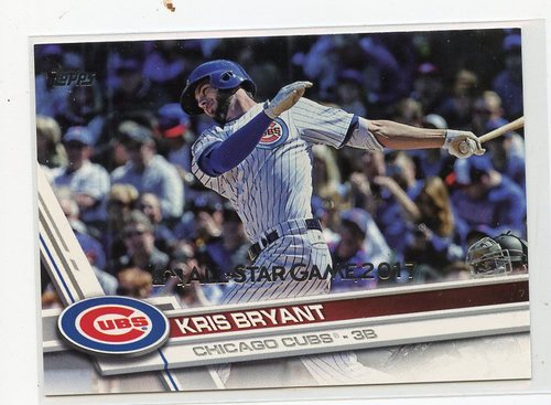 Photo of 2017 Topps All Star Game Silver #1 Kris Bryant