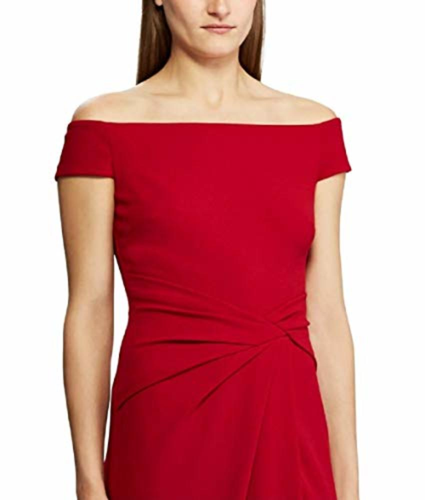 Photo of Lauren Ralph Lauren Women's Cap Sleeve Crepe Evening Gown