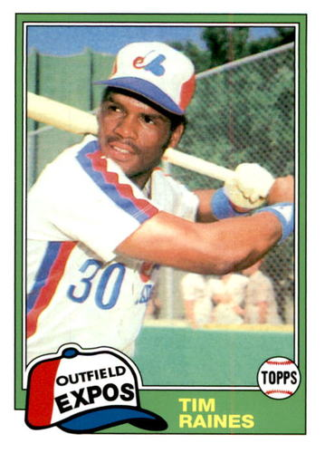 Photo of 2019 Topps Update Iconic Card Reprints #ICR30 Tim Raines