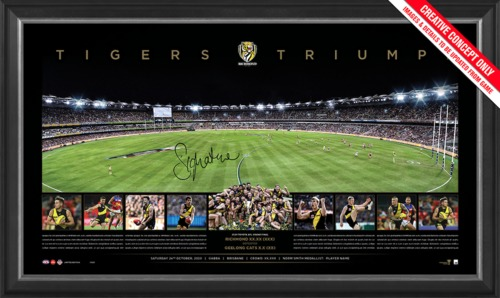 Photo of Richmond 2020 Premiers Signed Panoramic- Edition Number 20