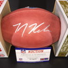 NFL - Lions T.J. Hockenson Signed Authentic Football with 2019 NFL Draft Logo