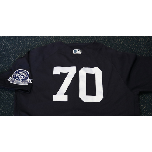 Photo of Team-Issued Spring Training Jersey - Luis Avilan - #70 - Jersey Size - 46