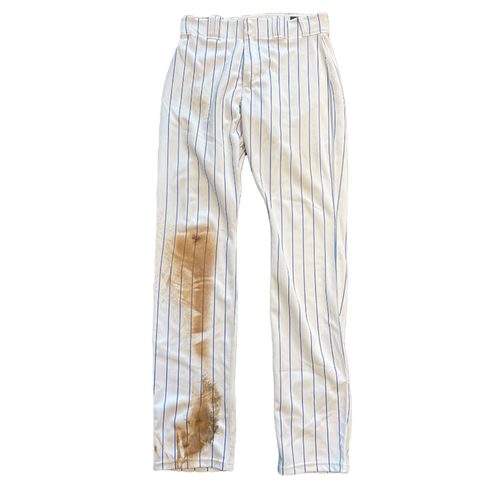 Photo of Kris Bryant Game-Used Pants -- Size 35-42-37 -- Phillies vs. Cubs -- 7/6/21