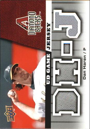 Photo of 2009 Upper Deck UD Game Jersey #GJDH Dan Haren