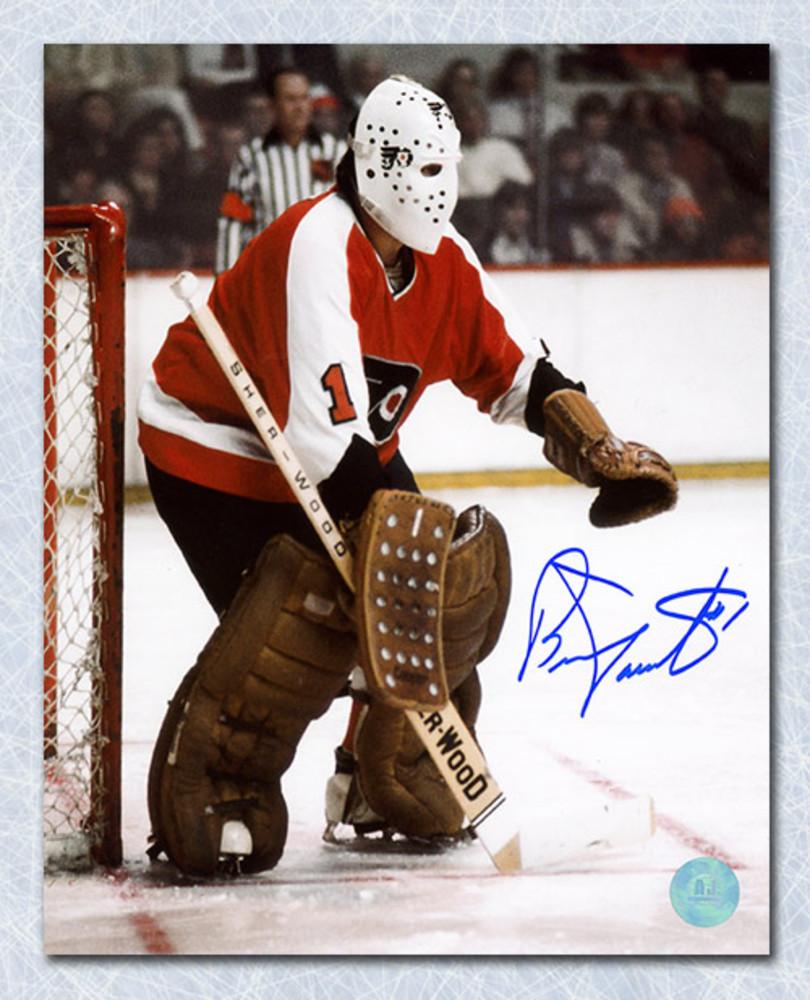 Bernie Parent Philadelphia Flyers Autographed Classic Goalie 16x20 Photo